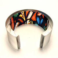 Contemporary acrylic jewellery from Jessica Sherriff