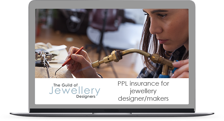 GoJD PPL Insurance for jewellery designer/makers